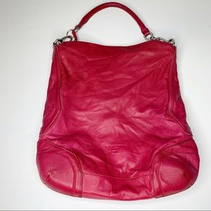 Liebeskind Berlin Pink Leather Large Shoulder Bag